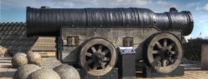 Mons Meg, at Edinburgh Castle; constructed in 1449. Photo from Wikipedia, http://en.wikipedia.org/wiki/Mons_Meg