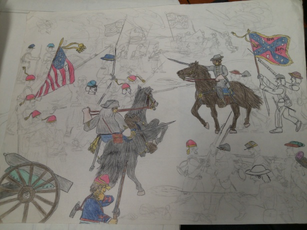 Barksdale's Charge, July 2